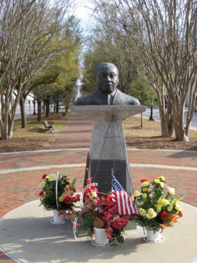 Bust of Dr. Martin Luther King, Jr.