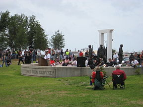 "2007 ""Run for the Wall"" ceremonies at Veterans Memorial Park"