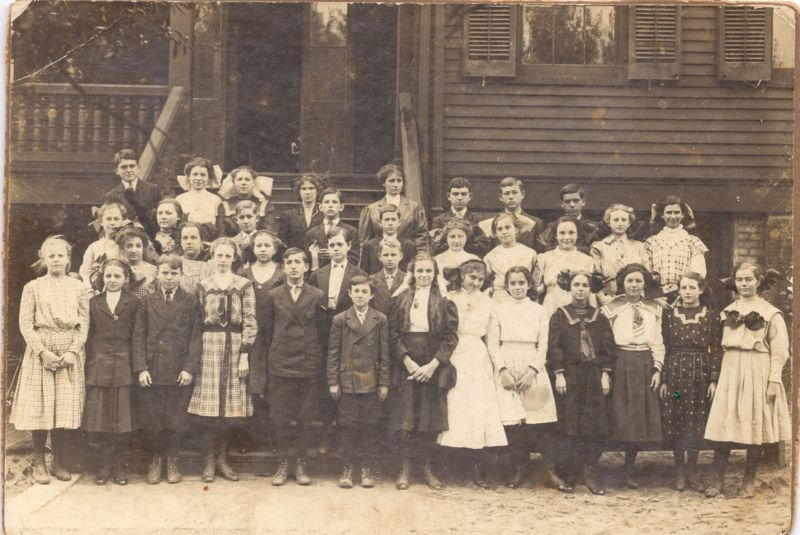 File:Pensacola, School, about 1904, Berry, Daniel Webster, 1st Row, 5th from left.jpg