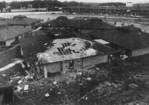 the ladies center following the june 25 bombing - Christmas Bombings
