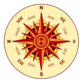 Compass rose brown.png